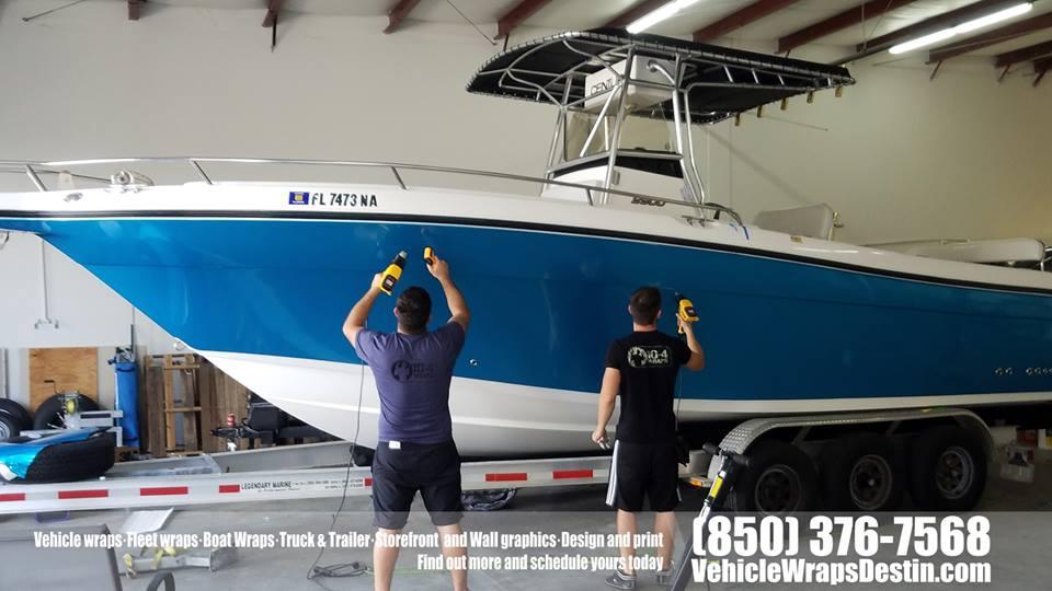 Century Boat Color Change Wrap 10 4wraps Vehicle Wraps